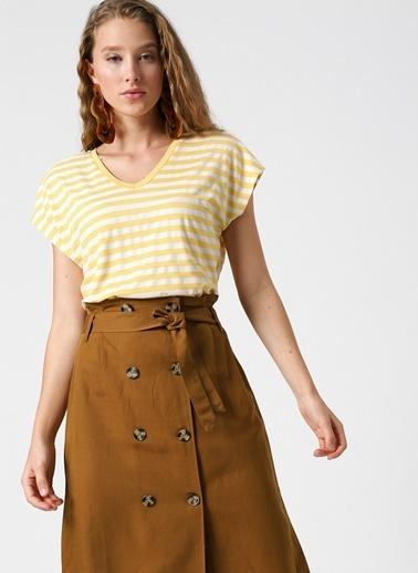 Koton Tişört Sarı